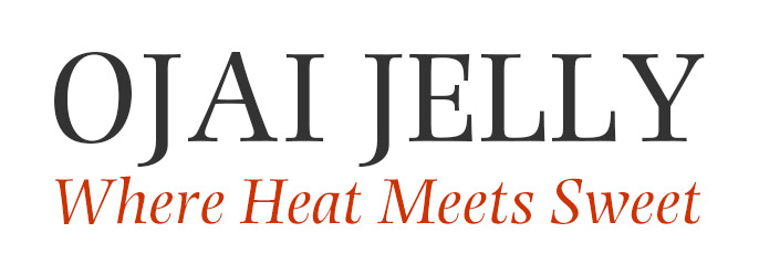 Ojai Jelly Where Heat Meets Sweet Logo